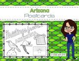 Arizona Postcard - Classroom Postcard Exchange