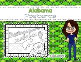 Alabama Postcard - Classroom Postcard Exchange