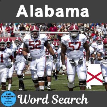 Alabama Word Search