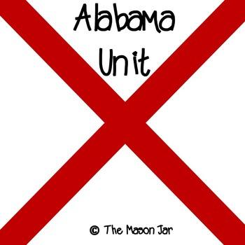 Alabama Social Studies Unit - (No Prep)