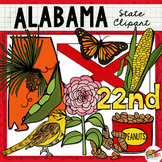 Alabama State Clip Art