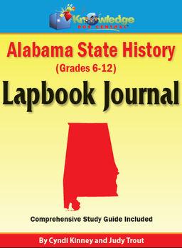 Alabama State History Lapbook Journal