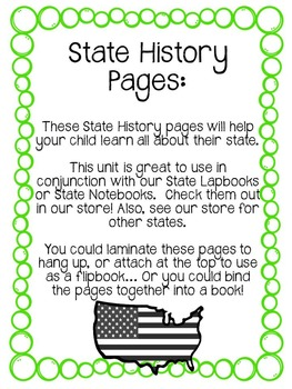 Alabama State History Unit! 34 Pages. Geography. State Facts