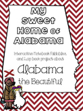 Alabama  State Lapbook Project or Interactive Notebook
