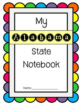 Alabama State Notebook / US State History / Geography