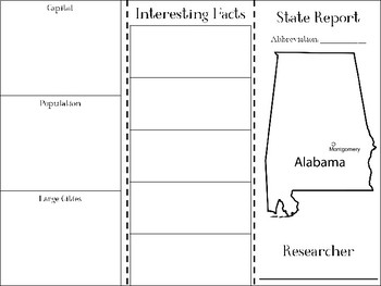 Alabama State Research Brochure