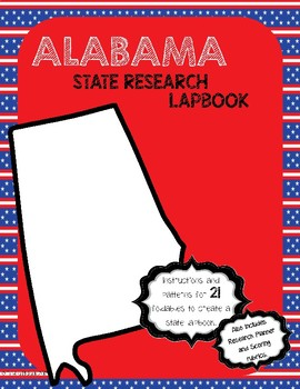 Alabama State Research Lapbook Interactive Project