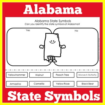 Alabama State Symbols Worksheet