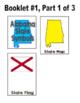 Alabama State Symbols Interactive Foldable Booklets