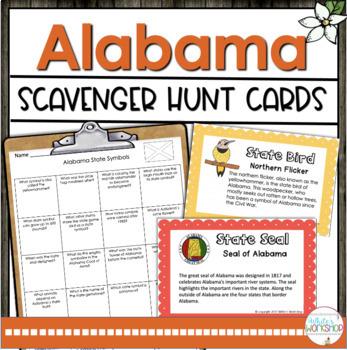 Alabama Symbols Activity Pack