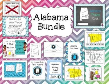 Alabama Themed Bundle- 14 resources