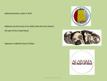 Alabama - USA State - Power Point Information Facts History Review