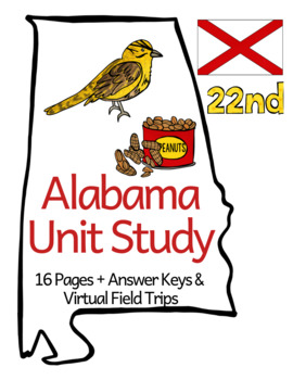 Alabama Unit Study + Virtual Field Trips