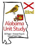 Alabama Unit Study + Virtual Field Trips