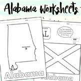 Alabama Worksheets