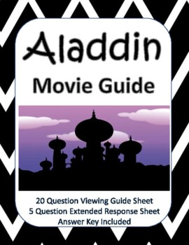 Aladdin (2019) Movie Guide - New Product!