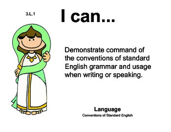 Aladdin 3rd grade English Common core standards posters