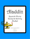 Aladdín Activity Packet and Movie Guide in Spanish/ Aladdín