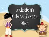 Aladdin Classroom Decor-Editable!