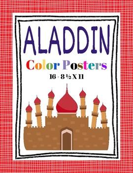 Aladdin Color Posters