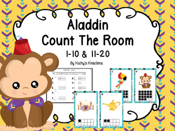 Aladdin Count The Room 1-10 & 11-20 Ten Frames