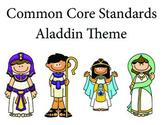 Aladdin Kindergarten English Common core standards posters