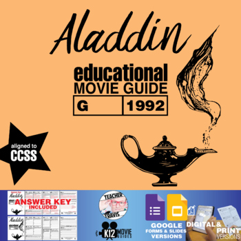 Aladdin Movie Guide   Questions   Worksheet (G - 1992)