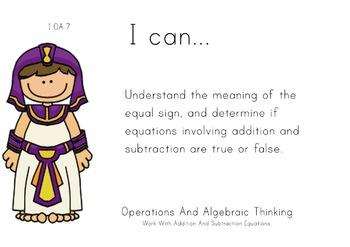 Aladdin Theme 1st grade math Common Core Posters first Grade Standards