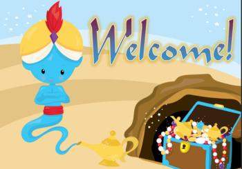 Aladdin Themed Classroom Resource Set