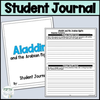 Aladdin and the Arabian Nights Student Response Journal