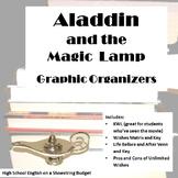 Aladdin and the Magic Lamp Graphic Organizers