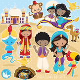 Aladdin clipart commercial use, vector graphics, digital - CL1100