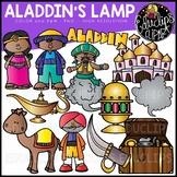 Aladdin's Lamp Clip Art Set {Educlips Clipart}
