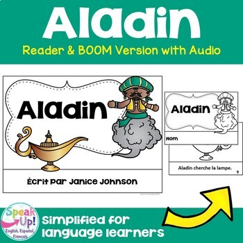 Aladin ~ Simplified French Aladdin Reader ~ for Language Learners
