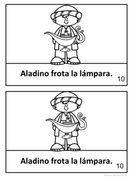 Aladino Spanish Aladdin Reader ~ Simplified for Language Learners