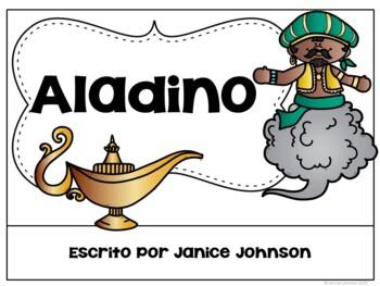 Aladino Spanish Aladdin Reader ~ Simplified for Language Learners