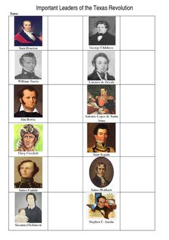 Alamo Leaders Cut-n-Paste