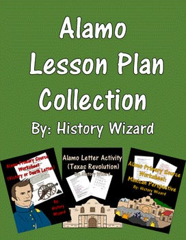 Alamo Lesson Plan Collection