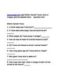 Alamo-William B. Travis Research