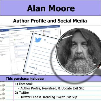 Alan Moore - Author Study - Profile and Social Media