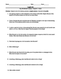 Alan Paton's Cry the Beloved Country--Complete Test and Quiz Packet