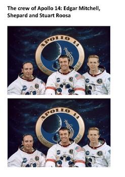 Alan Shephard - Space Word Search