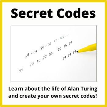 Alan Turing,  Creating and Deciphering Secret Codes