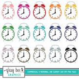 Alarm Clock Clip Art Pack