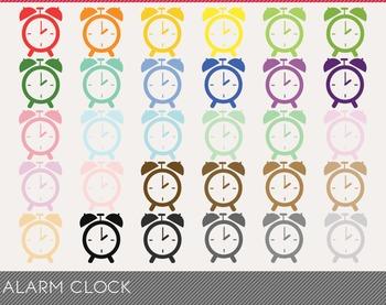 Alarm Clock Digital Clipart, Alarm Clock Graphics, Alarm C
