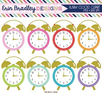 Alarm Clocks Clipart