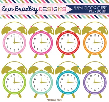 Alarm Clocks Clipart