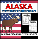 Alaska State Study - Facts and Information about Alaska -Guided Research Project
