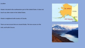 Alaska 49th State Power Point - History Facts Review Information