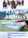 Alaska Animals Notebooking Pages